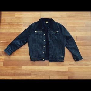 Born Fly - Sherpa Lined Denim Jacket